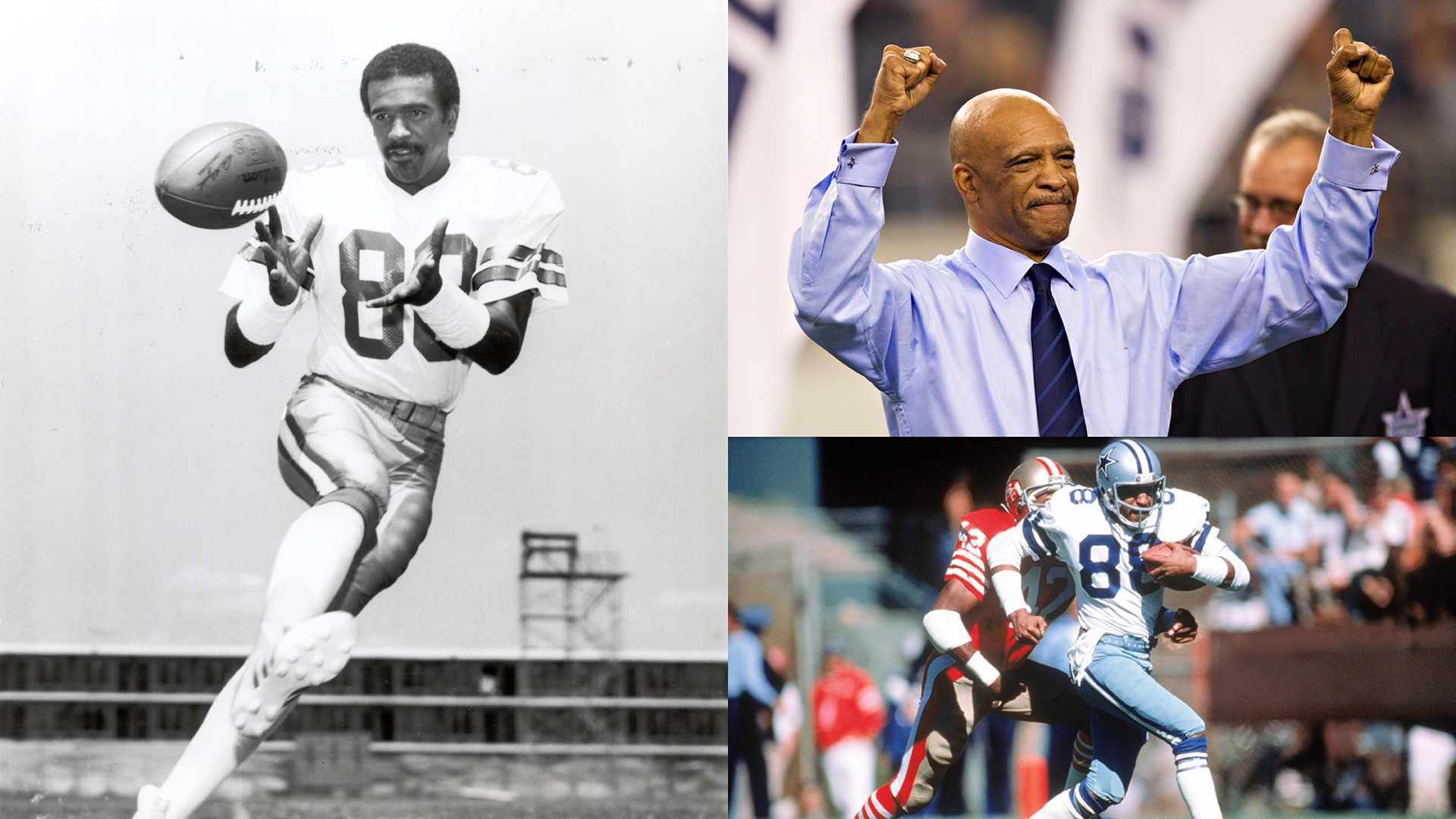 ed7ebcb761e Drew Pearson Named 2019 Distinguished Texan by the NFF Gridiron Club ...
