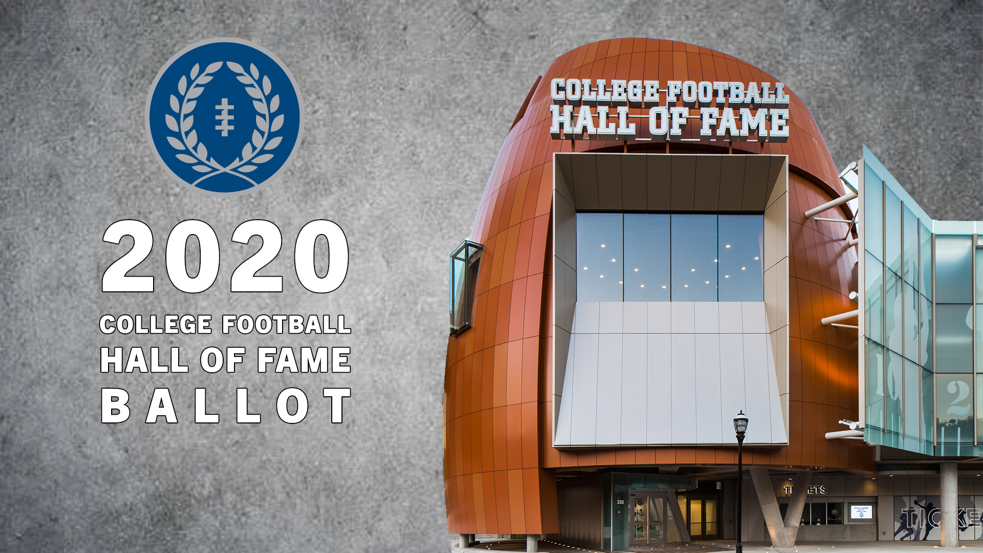 sports shoes 39df0 fbffb 2020 College Football Hall of Fame Ballot